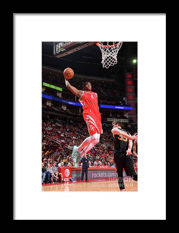 Nba Pro Basketball Framed Print featuring the photograph Danuel House by Bill Baptist