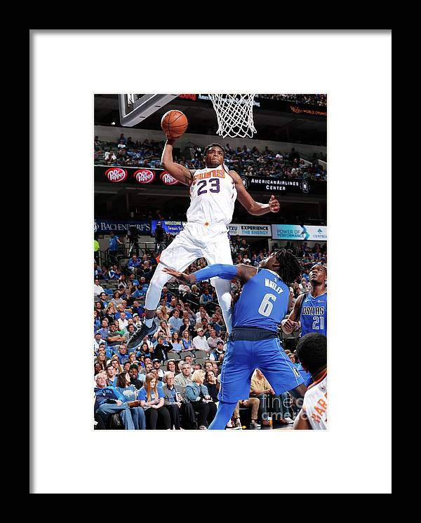 Sports Ball Framed Print featuring the photograph Danuel House by Danny Bollinger
