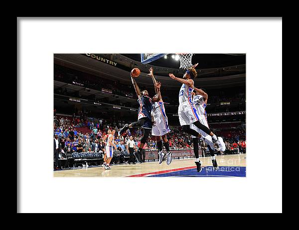 Nba Pro Basketball Framed Print featuring the photograph Danuel House by Jesse D. Garrabrant