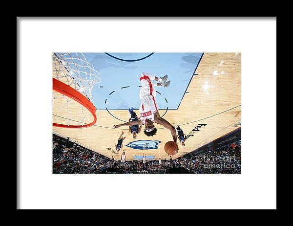 Nba Pro Basketball Framed Print featuring the photograph Danuel House by Joe Murphy