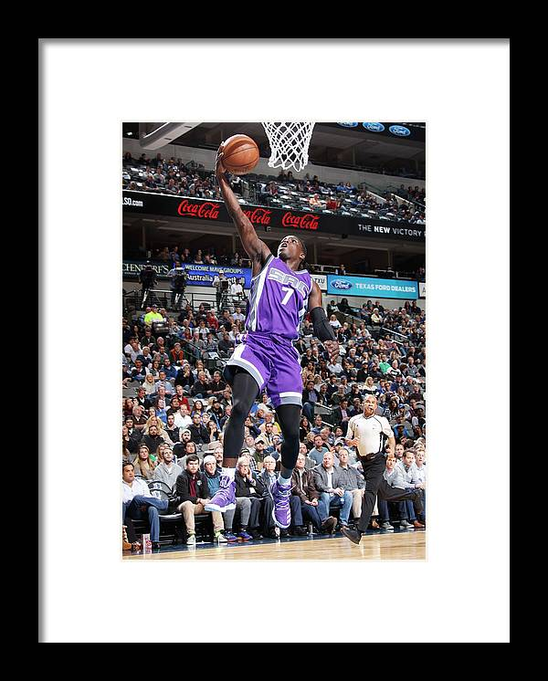 Nba Pro Basketball Framed Print featuring the photograph Darren Collison by Danny Bollinger