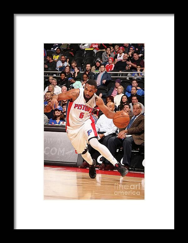 Nba Pro Basketball Framed Print featuring the photograph Darrun Hilliard by Brian Sevald