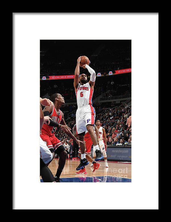 Nba Pro Basketball Framed Print featuring the photograph Darrun Hilliard by Chris Schwegler
