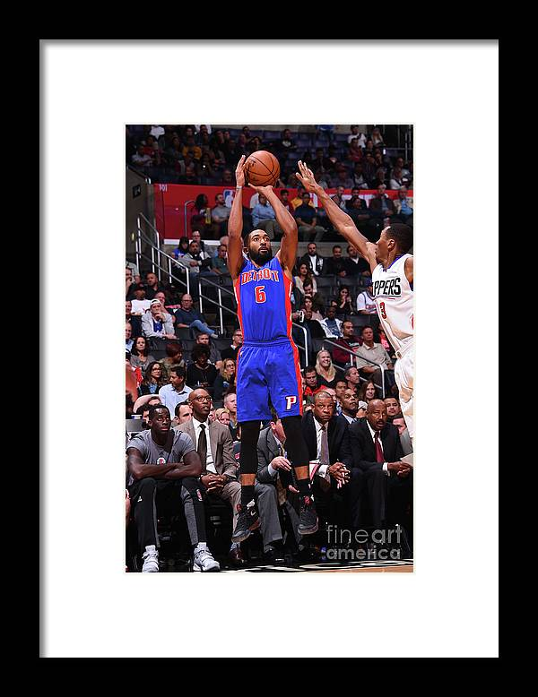 Nba Pro Basketball Framed Print featuring the photograph Darrun Hilliard by Juan Ocampo