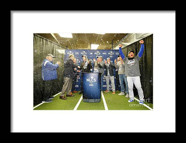 Championship Framed Print featuring the photograph Dave Roberts by Jamie Squire