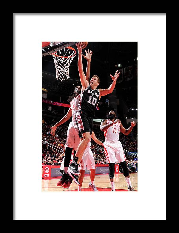 Nba Pro Basketball Framed Print featuring the photograph David Lee by Bill Baptist