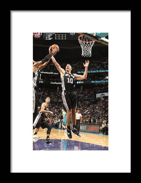 Nba Pro Basketball Framed Print featuring the photograph David Lee by Brock Williams-smith