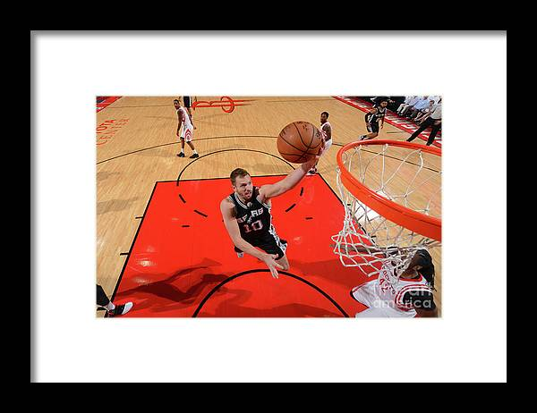 Playoffs Framed Print featuring the photograph David Lee by Jesse D. Garrabrant