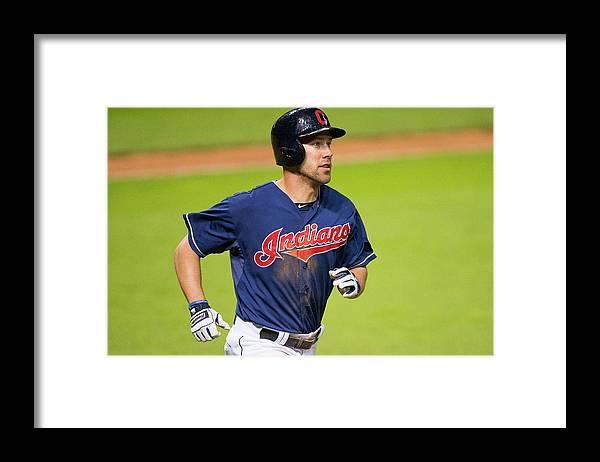 American League Baseball Framed Print featuring the photograph David Murphy by Jason Miller