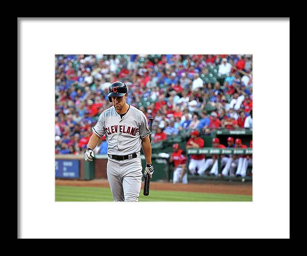 Second Inning Framed Print featuring the photograph David Murphy by Layne Murdoch Jr.