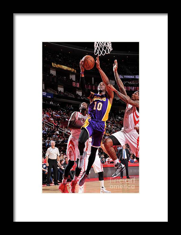 Nba Pro Basketball Framed Print featuring the photograph David Nwaba by Bill Baptist