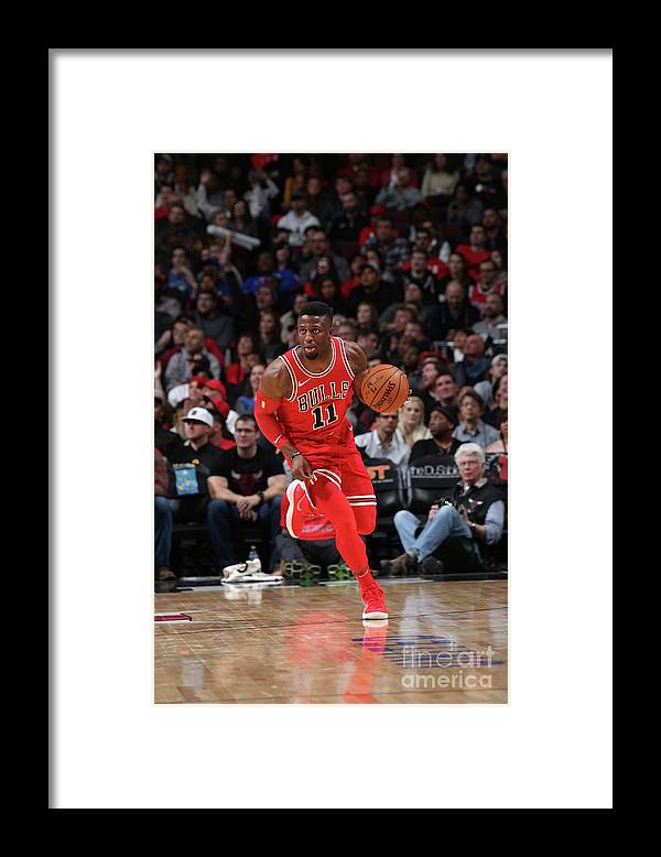 Nba Pro Basketball Framed Print featuring the photograph David Nwaba by Gary Dineen