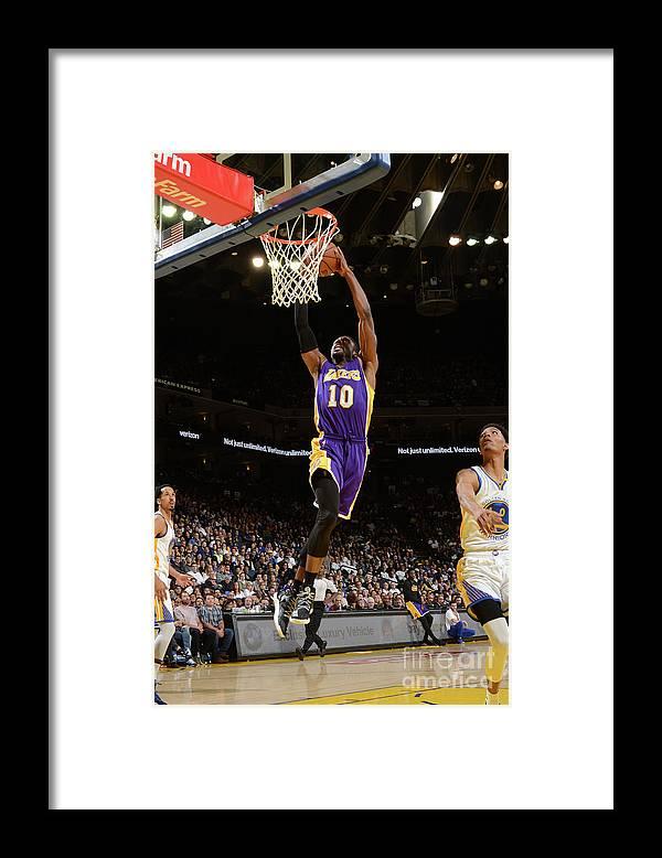 Nba Pro Basketball Framed Print featuring the photograph David Nwaba by Noah Graham