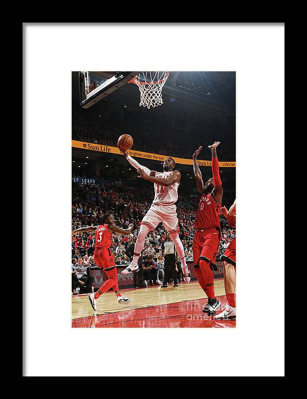 Nba Pro Basketball Framed Print featuring the photograph David Nwaba by Ron Turenne