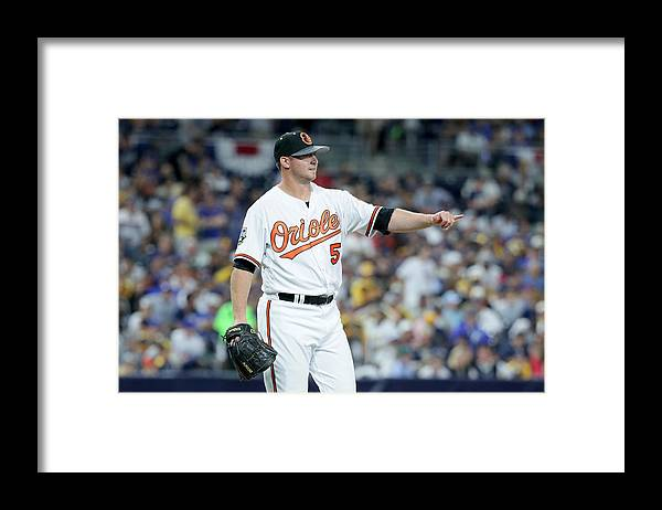 Crowd Framed Print featuring the photograph David Ortiz by Sean M. Haffey