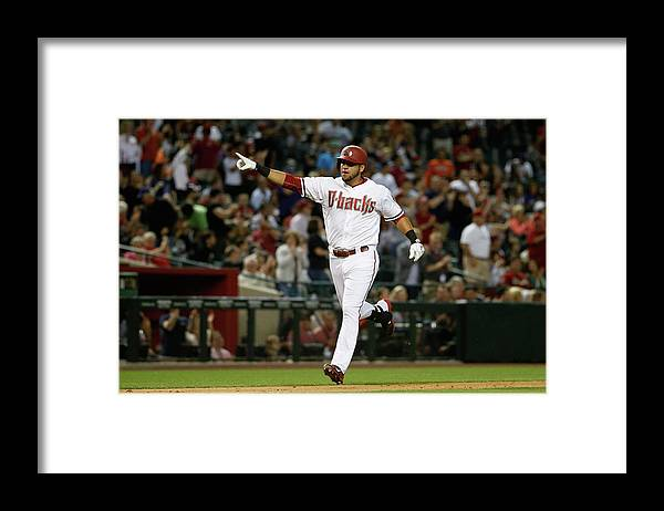 People Framed Print featuring the photograph David Peralta by Christian Petersen