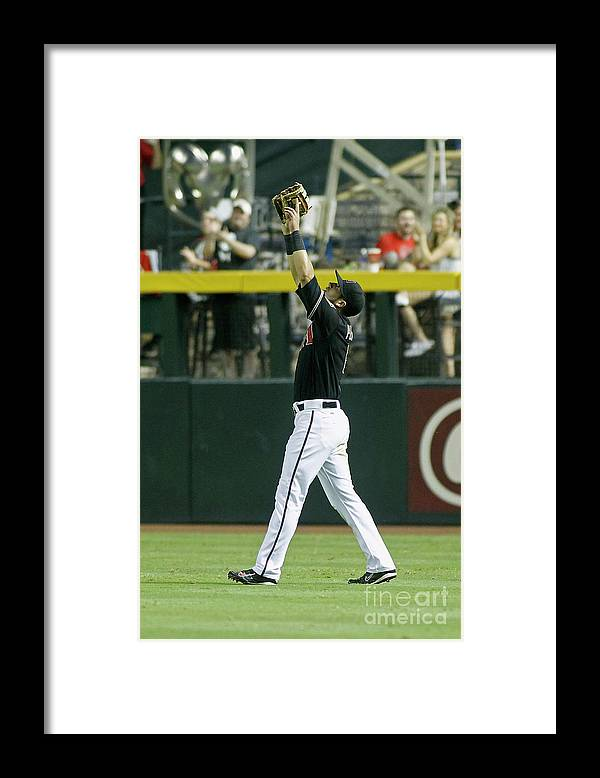 The End Framed Print featuring the photograph David Peralta by Ralph Freso