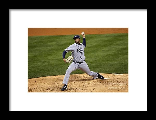 David Price Framed Print featuring the photograph David Price by Elsa