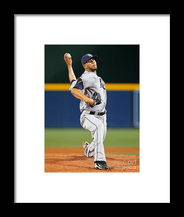 Atlanta Framed Print featuring the photograph David Price by Kevin C. Cox