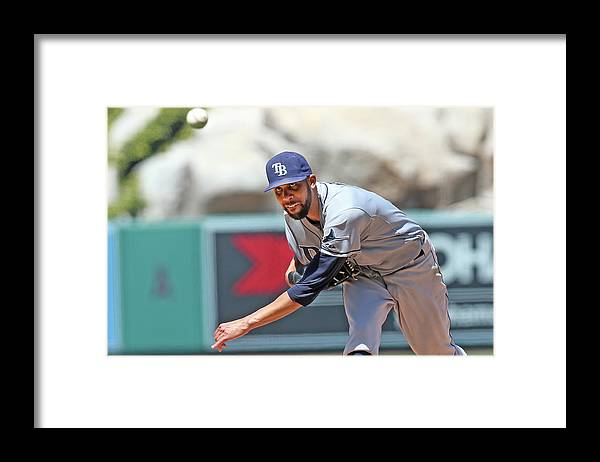 David Price Framed Print featuring the photograph David Price by Stephen Dunn