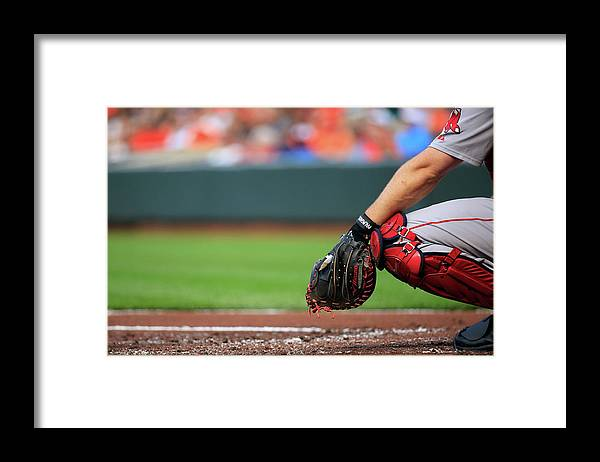 Working Framed Print featuring the photograph David Ross by Rob Carr