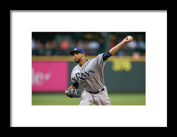 David Price Framed Print featuring the photograph David Washington by Otto Greule Jr