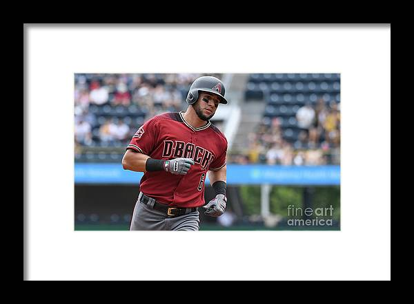 Three Quarter Length Framed Print featuring the photograph David West by Justin Berl