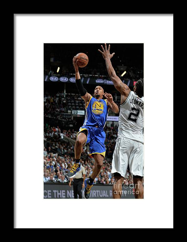 Nba Pro Basketball Framed Print featuring the photograph David West by Mark Sobhani