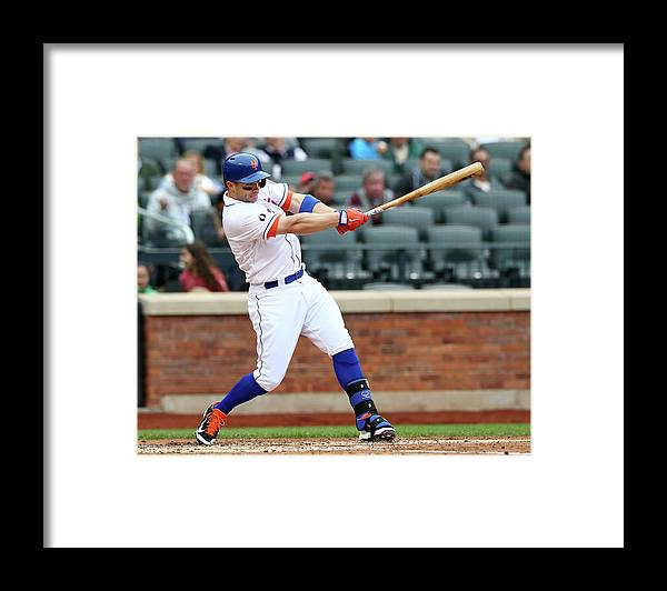 Residential District Framed Print featuring the photograph David Wright by Elsa