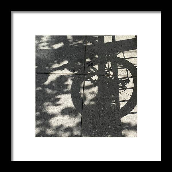 Photograph Framed Print featuring the photograph DC bicycle by Richard Wetterauer