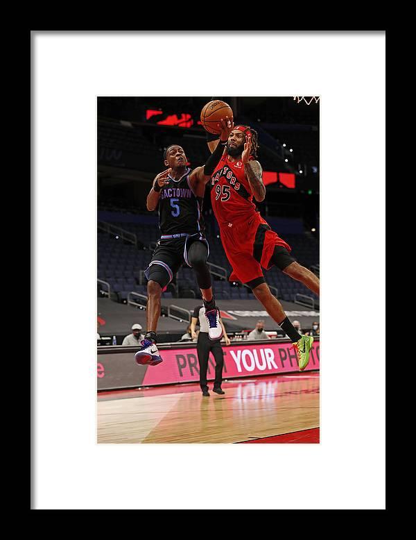 Nba Pro Basketball Framed Print featuring the photograph De'aaron Fox by Scott Audette