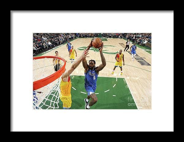 Nba Pro Basketball Framed Print featuring the photograph Deandre Jordan by Gary Dineen