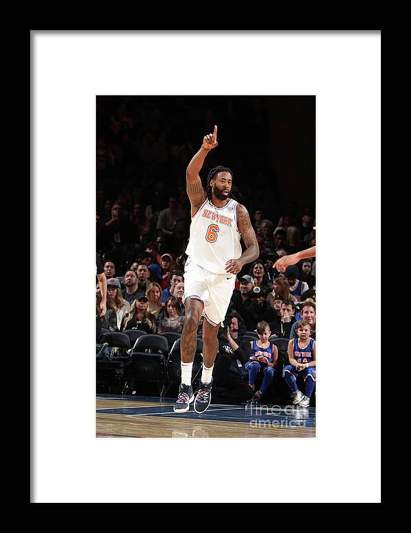 Nba Pro Basketball Framed Print featuring the photograph Deandre Jordan by Nathaniel S. Butler