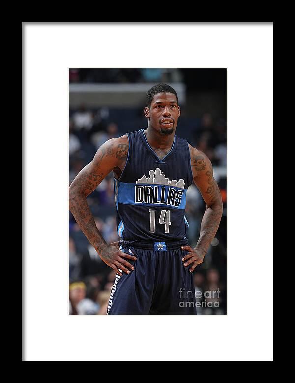 Nba Pro Basketball Framed Print featuring the photograph Deandre Liggins by Joe Murphy