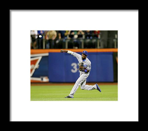 Residential District Framed Print featuring the photograph Dee Gordon and Lucas Duda by Elsa