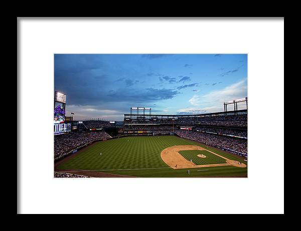 Relief Pitcher Framed Print featuring the photograph Dee Gordon And Tommy Kahnle by Justin Edmonds