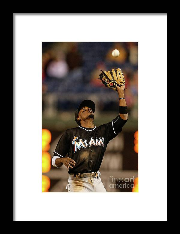 People Framed Print featuring the photograph Dee Gordon by Brian Garfinkel