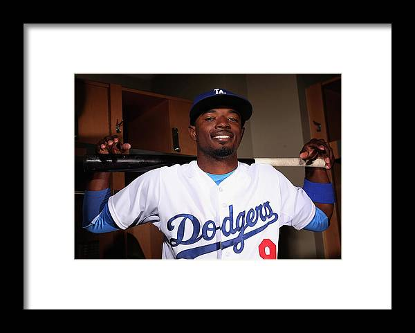 Media Day Framed Print featuring the photograph Dee Gordon by Christian Petersen