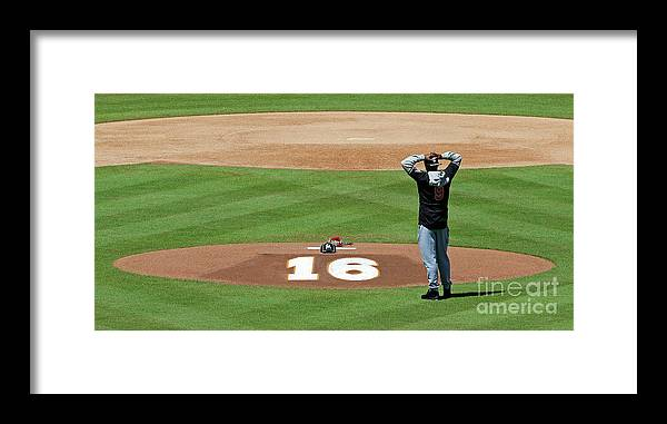 People Framed Print featuring the photograph Dee Gordon by Joe Skipper