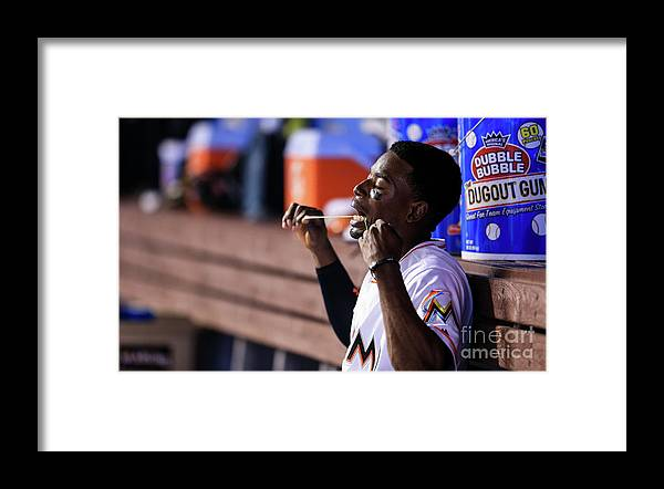 People Framed Print featuring the photograph Dee Gordon by Rob Foldy