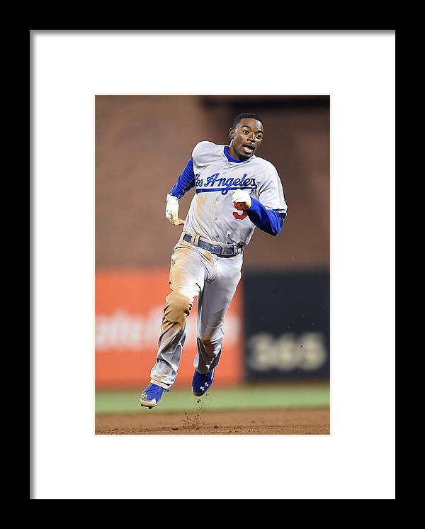 San Francisco Framed Print featuring the photograph Dee Gordon by Thearon W. Henderson