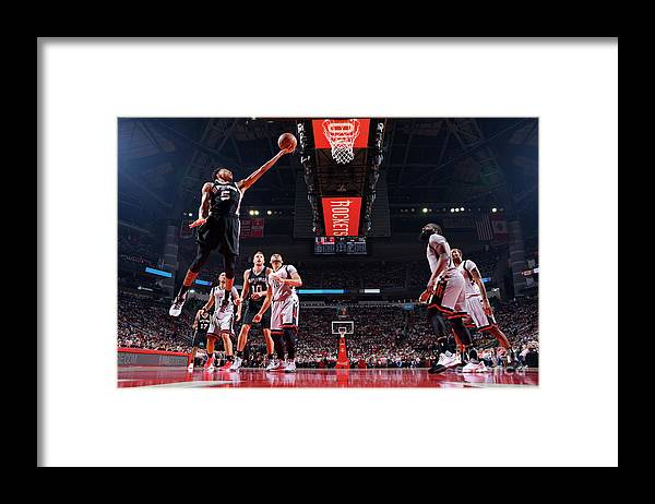 Playoffs Framed Print featuring the photograph Dejounte Murray by Jesse D. Garrabrant