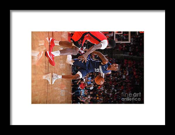 Nba Pro Basketball Framed Print featuring the photograph Delon Wright by Bill Baptist