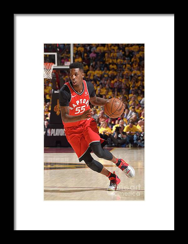 Playoffs Framed Print featuring the photograph Delon Wright by David Liam Kyle