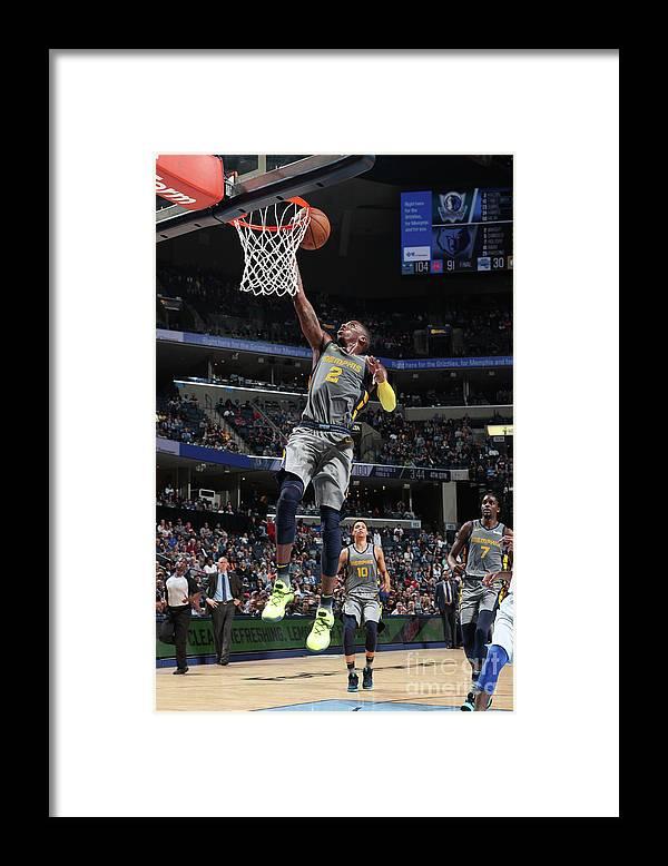 Nba Pro Basketball Framed Print featuring the photograph Delon Wright by Joe Murphy