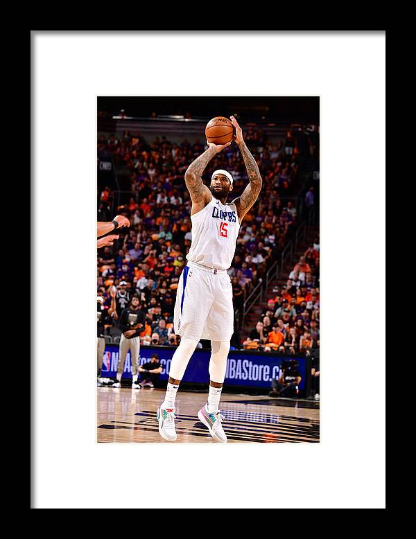 Playoffs Framed Print featuring the photograph Demarcus Cousins by Barry Gossage