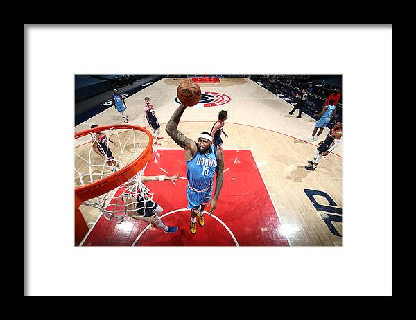 Nba Pro Basketball Framed Print featuring the photograph Demarcus Cousins by Ned Dishman