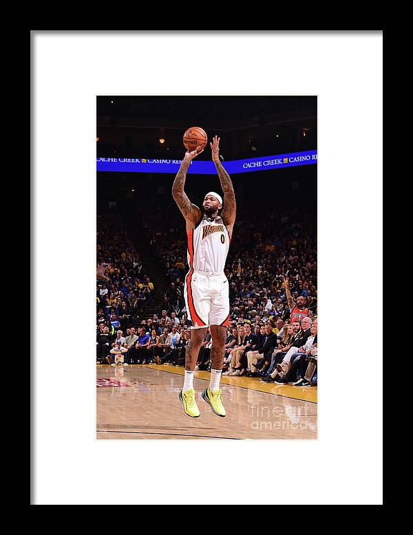 Nba Pro Basketball Framed Print featuring the photograph Demarcus Cousins by Noah Graham