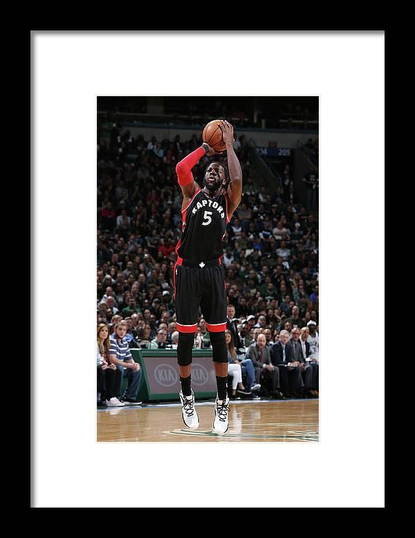 Playoffs Framed Print featuring the photograph Demarre Carroll by Gary Dineen
