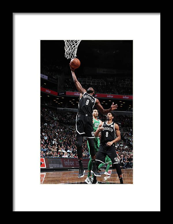 Nba Pro Basketball Framed Print featuring the photograph Demarre Carroll by Nathaniel S. Butler